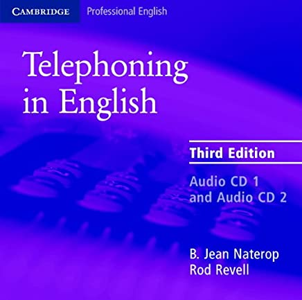 Telephoning in English Audio CD