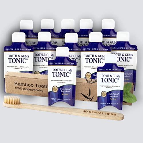 Dental Herb Company - Tonic Traveler - Single Use Tonic Mouthwash (12...