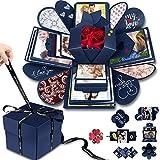 DIY Explosion Box Set,Creative Explosion Gift Box-Love Memory,Scrapbook,Photo Album Gift Box for...