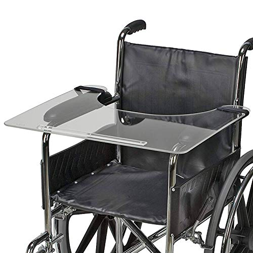 DMI Clear Wheelchair Tray