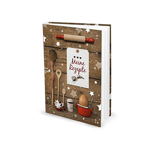 DIN A5 HARDCOVER Rezeptbuch Selberschreiben MEINE REZEPTE Weihnachtsplätzchen Weihnachtsgebäck Plätzchen Rezepte Weihnachten Backen Backbuch Geschenk Weihnachten Bäckerei Kekse