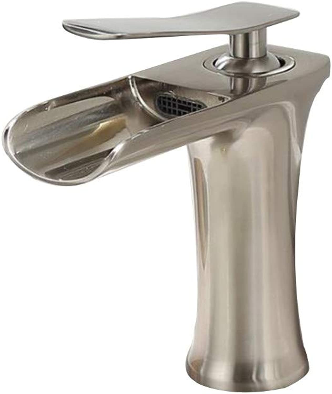 Becken Wasserhahn Gebürstetem Kupfer Waschbecken Wasserhahn über Zhler Becken Wasserhahn Heies Und Kaltes Wasser Wasserhahn