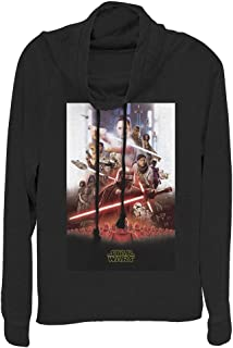 STAR WARS Junior's Women's Long Sleeve Cowl Neck Pullover