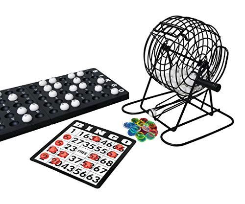 noris Noris 606108011 Deluxe Bingo, Spieleklassiker Bild
