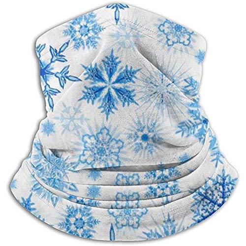 Olive Helin(a) Winter Frost Glitter Schneeflocken UV Sonnenschutz Gamasche Sonnenmaske, Gesichtsschutz zum Angeln, Wandern, Kajak Maske,