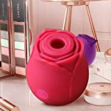 Adam and Eve Rọse Mini Size V+ibratọr Powerful 7 Massaging tọy for Women Silịcone Big Finger Waterproof Rechargeable