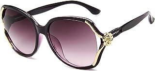 SJZERO Femmes lunettes de soleil mode bloc éblouissement lunettes femmes lunettes de soleil conception simple nuances lune...