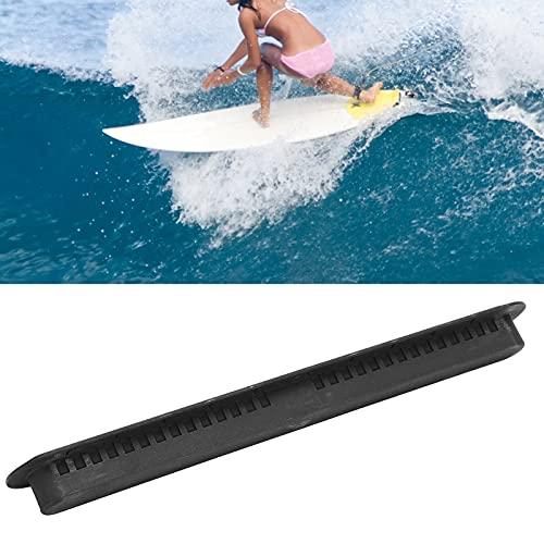 Surco del timón de la Tabla de Surf, Caja portátil de la Aleta de la Tabla de Surf fácil de Instalar para Las Tablas de Surf(Black)