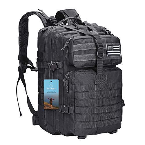 40L Militärischer Taktischer Rucksack Molle Umhängetasche Rucksack Assault Pack Tagesrucksack für Camping Trekking Jagd Angeln