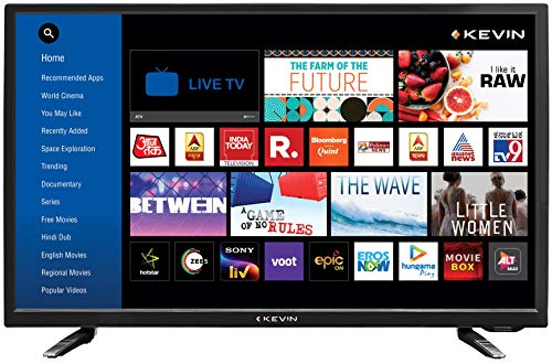 Kevin 80 cm (32 Inches) HD Ready LED Smart TV...