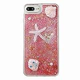 TYWZ Funda para Samsung Galaxy Note 10 Plus, diseño de estrellas de mar en 3D, hecha a mano, color rosa