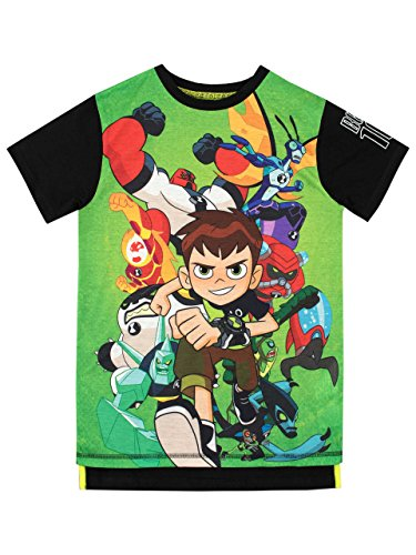 Ben 10 Boys' T-Shirt Size 5 Multicolored