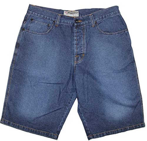 IRIEDAILY Skateboard Herren Shorts Denim Blue, Hosengrösse:28