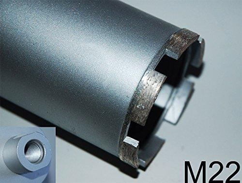 SDS PLUS Diamantbohrkrone M22 mit Spitzgewinde Kernbohrkrone Kernbohrer DM 71 mm L 200 mm für Bohrhammer