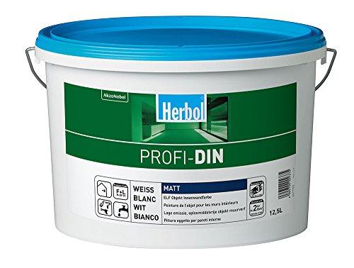 Herbol Profi DIN 12,5L edelweiß - emissionsarm, lösemittel- und weichmacherfrei