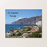 Los Gigantes Tenerife Islas Canarias Jigsaw Puzzles 1000 Piezas, Desafiantes y Educativos Juegos Juguetes, Pintura Abstracta Puzzle para Niños Adultos