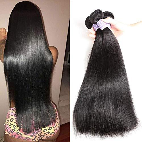 Straight Hair Bundles 10A Brazilian Human Hair 100% Unprocessed Human Virgin Hair 100g/bundle total 3 Bundles 10 12 14inch