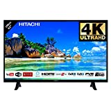 Hitachi Téléviseur LED 43' 107,9cm 4K Ultra HD avec Alexa/Smart TV: Netflix, Youtube, Prime/WiFi - Ethernet / 2 HDMI / 1 USB