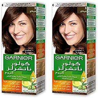 Garnier Color Naturals Crème Twin Pack, 5 Light Brown,159 gm