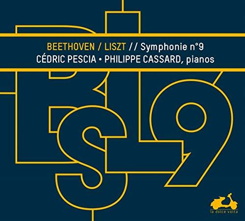 Cedric Pescia Philippe Cassard - Beethoven Symphony No. 9 Transcribe