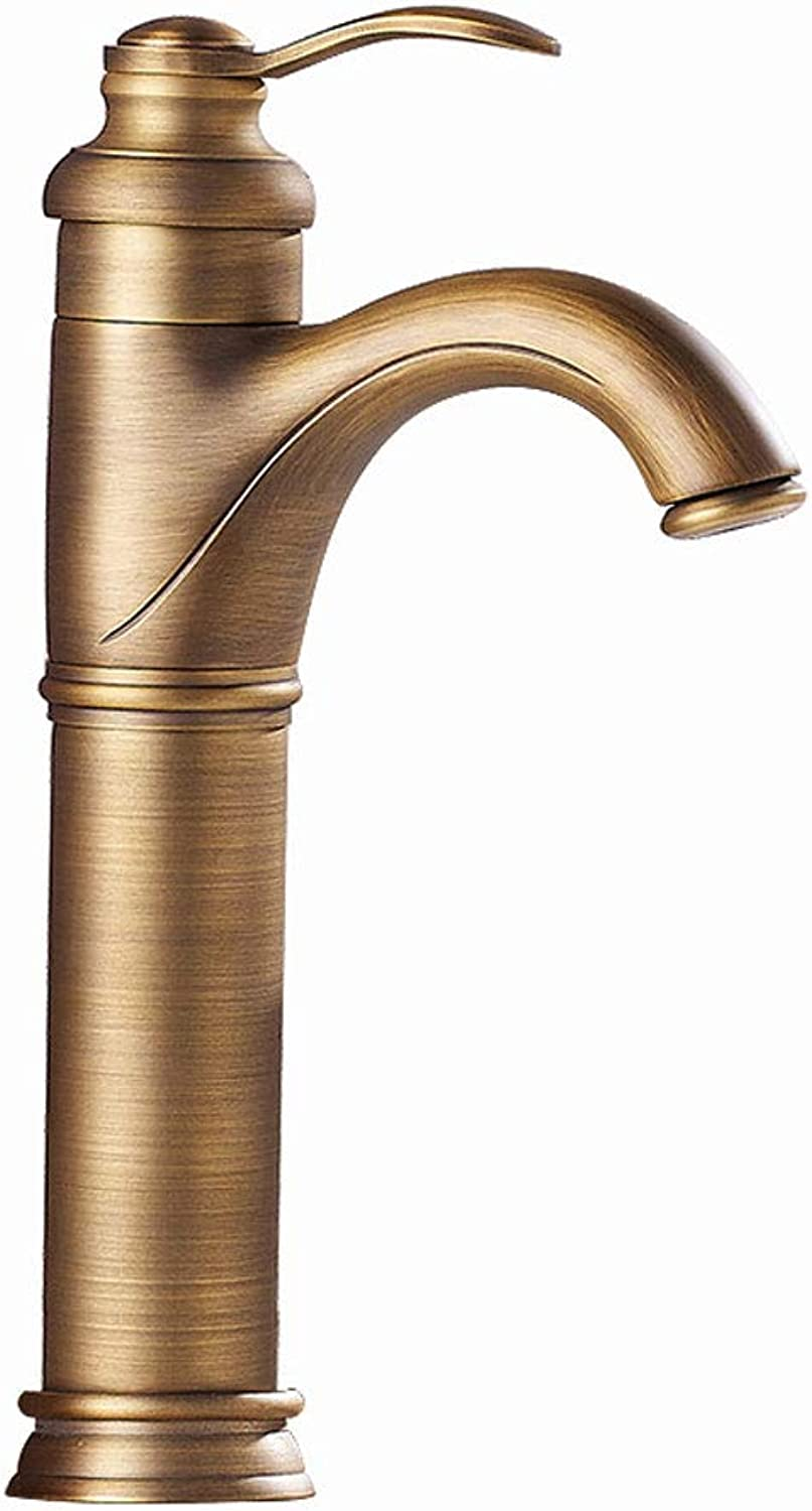 Faucet Antique Full Copper Washbasin Low Lead Wash Basin Faucet European Basin