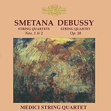 Smetana & Debussy: String Quartets