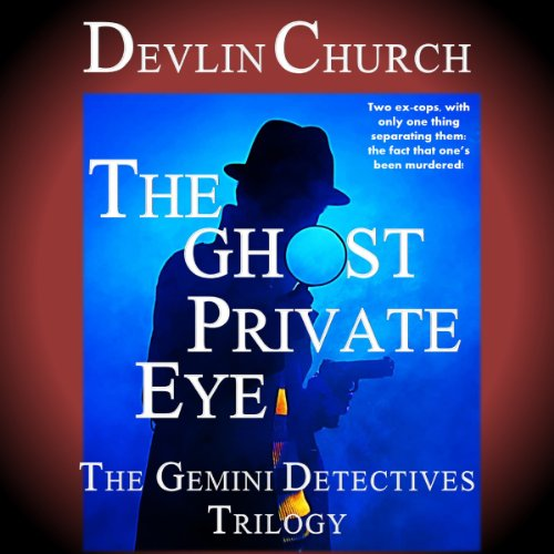 The Ghost Private Eye audiobook cover art