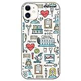 dakanna Funda para [iPhone 11] de Silicona Flexible, Dibujo Diseño [Simbolos Medicina Enfermera Ambulancia Corazón Hospital], Color [Fondo Transparente] Carcasa Case Cover de Gel TPU, Smartphone