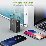 PD充電器 USB C 60W Omars 「PSE認証済」ノートパソコン充電器 PowerDelivery3.0 急速充電対応 折り畳み式ACプラグ付き ACアダプター(usbc to cケーブル付き) 1ポートiPhone 11/11 Pro/11 Pro Max/XS、XS Max/XR/X/8Plus/8,iPad Pro、Huawei mate20 / mate10 / mate9 / P20/iPad Pro、MacBook Pro/ ノートパソコン/Switchその他USB-C機器対応