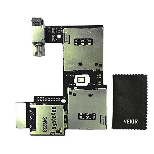 VEKIR Daul SIM-Kartenleser Flex Cable Replacement Kompatibel mit Motorola Moto G2 XT1063 XT1064 XT1068 Retail Verpackung
