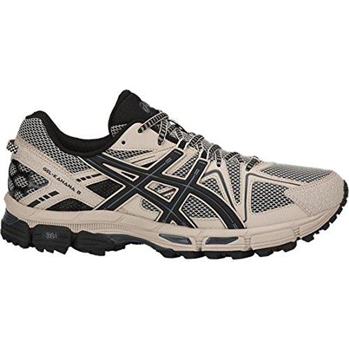 ASICS Men's Gel-Kahana 8 Trail Running Shoe, Grey/Black/Carbon, 11 M US