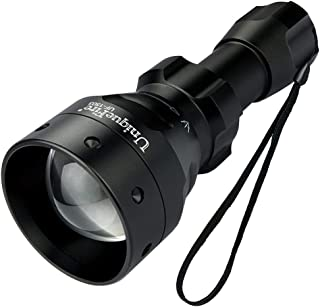 UniqueFire 1503 T50 IR 850NM LED 50mm Lens Infrared Light Night Vision Flashlight 3 Modes Torch (1503 IR 850)