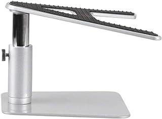 QQAA Soporte para portátil, Elevador y Giratorio, radiador de Base, Soporte Universal para portátil, Gris Plateado Simple y Elegante, Adecuado para Uso en el hogar/Oficina