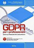 GDPR per i professionisti. Guida alle procedure per l'adeguamento. Con software