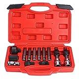 13 pezzi Alternatore Puleggia ruota libera Presa di rimozione Bit Dado di bloccaggio Kit di chiavi Kit di chiavi Attrezzo di servizio per garage Riparazione Rimozione Installatore