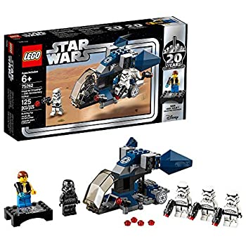 LEGO Star Wars Imperial Dropship – 20th Anniversary Edition 75262 Building Kit  125 Pieces   Discontinued by Manufacturer