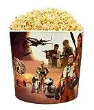 Star Wars The Force Awakens Home Theater Popcorn Bucket & 1 Bag of Pop Secret Butter Flavored Microwave Popcorn