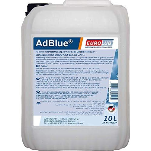 EUROLUB ADBLUE - Urea sintetica, 10 L