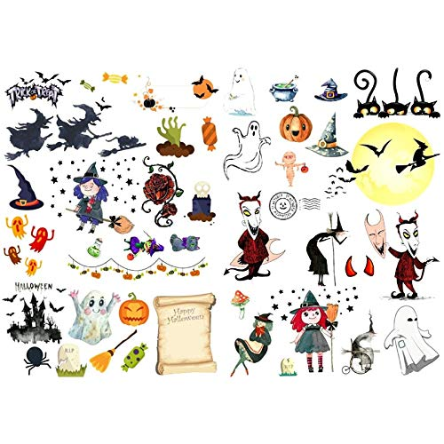 1 PCS Cartoon Halloween Fledermaus Ghost Handmade Mini Kalender Album Aganda Scrapbook Aufkleber Niedliche stationäre Back to School Supplies