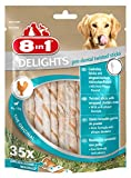 8in1 Delights Twisted Sticks Pollo - 35 Pezzi, 190 g