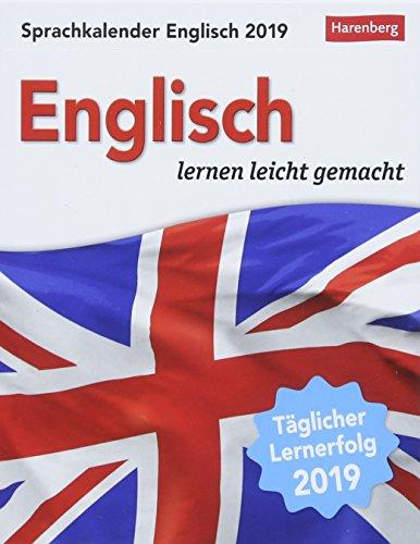 Sprachkalender Englisch - Kalender 2019: Englisch lernen leicht gemacht
