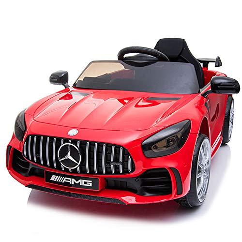 BC BABY COCHES Coche eléctrico para niños Mercedes GT-R con Ruedas Caucho y Mando Control...
