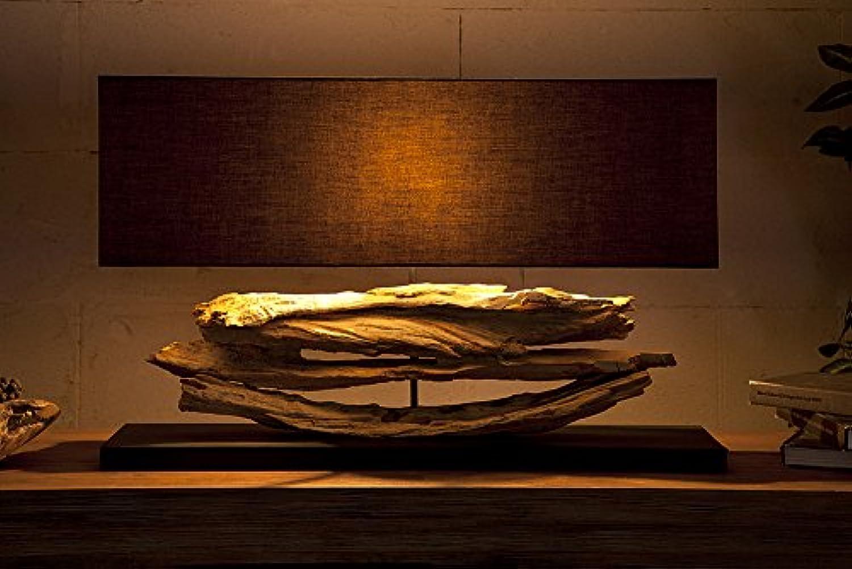 DuNord XXL Design Lampe RIVERINE schwarz Treibholz Leuchte Handarbeit