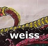 DEKOVALENZ - Drachen-Fahnen Stoff Dragon mit Herz-Spitze, versch. Farben, Farbe:Weiss, Fahnenlänge:5 Meter