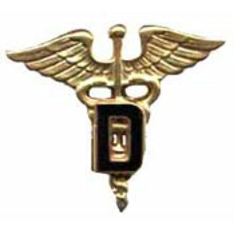 EagleEmblems P10452 Pin-Army,Medic,Cad,Dental (Gld) (1.125'')