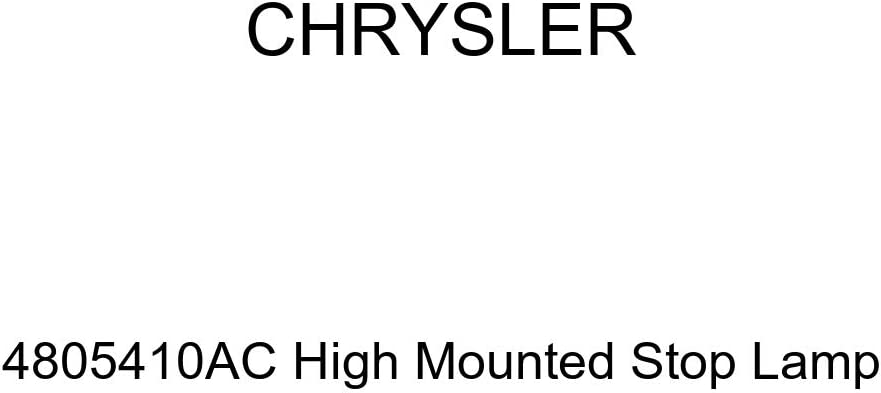 Genuine Chrysler 4805410AC High Mounted Stop Max 90% OFF Lamp Store