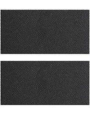 Yunobi Parche de reparación de piel, autoadhesivo, de piel auténtica, multicolor, disponible para sofás, asientos de coche, bolsos, 2 unidades
