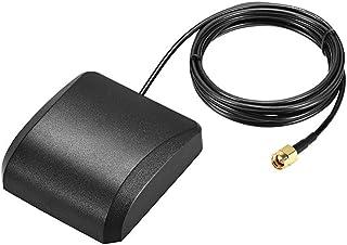 Antena activa GPS DyniLao compatible con GLONASS SMA macho conector aéreo 42dB cable conector con montaje magnético 3 metr...