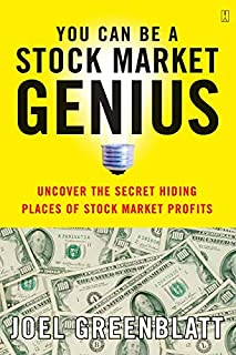 You Can Be a Stock Market Genius: Uncover the Secret Hiding Places of Stock Market Profits (0684840073) | Amazon price tracker / tracking, Amazon price history charts, Amazon price watches, Amazon price drop alerts