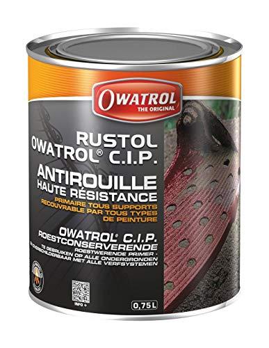 Rustol C.I.P. - Hochbeständige Korrosionsschutzgrundierung - Owatrol - 0.75 Litre